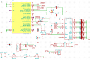 First version of the schematic for SpinnerHD